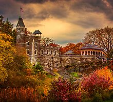 Autumn At Belvedere Castle by Chris Lord