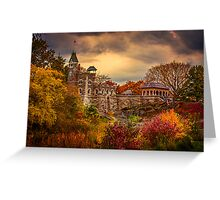 Autumn At Belvedere Castle Greeting Card
