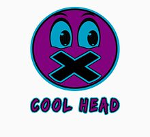 Cool Head Purple And Teal Unisex T-Shirt