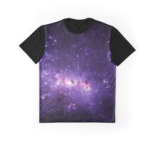 Purple star cluster - Space Graphic T-Shirt