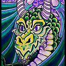 dragon close up by dedmanshootn