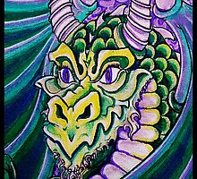dragon close up by dedmanshootn