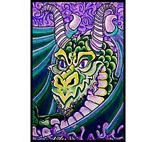 dragon close up Photographic Print