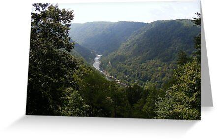 West Virginia Mountains by Noelle Loberg