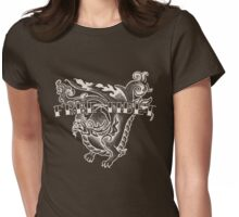 Free Tibet Dragon Womens Fitted T-Shirt