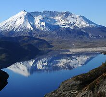 Mt St Helens & Spirit Lake Reflection_9236_101913 by Randy Craig (nature & landscape photography)