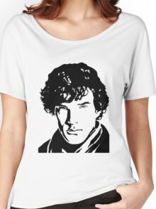 Benjamin Cumberbatch Sherlock Holmes Women's Relaxed Fit T-Shirt