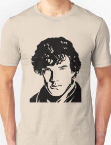 Benjamin Cumberbatch Sherlock Holmes T-Shirt