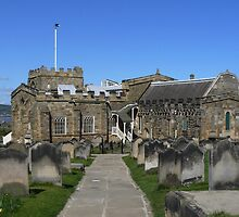 The Church on the hill above Whitby by davidwatterson