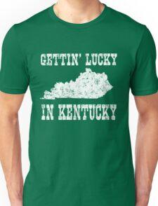 Getting Lucky in Kentucky Unisex T-Shirt