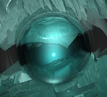 Green Cavern Reflections by Phil Perkins