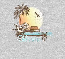 Hawaii Vintage Tropical Scene Unisex T-Shirt
