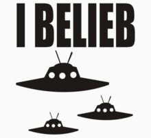 I Belieb In Aliens  by Six 3