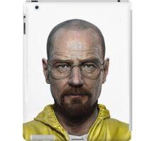 walter white head breaking bad iPad Case/Skin