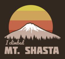 I climbed Mt. Shasta by whereables