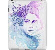 Watercolor Lady iPad Case/Skin