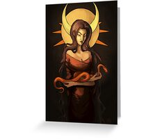 Mother of Snakes Greeting Card