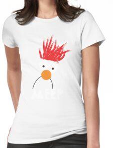 Beaker MEEP Womens Fitted T-Shirt
