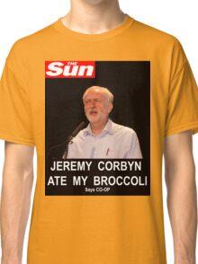 Jeremy Corbyn ate my broccoli Classic T-Shirt