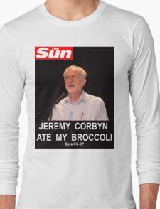 Jeremy Corbyn ate my broccoli Long Sleeve T-Shirt