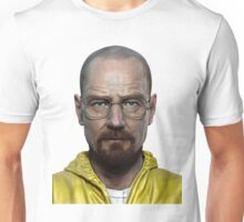 walter white head breaking bad Unisex T-Shirt
