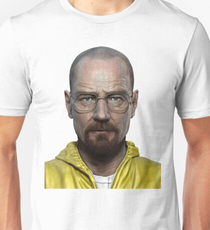 walter white head breaking bad Unisex T-Shirt