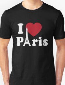 I Love (Heart) Paris T-Shirt