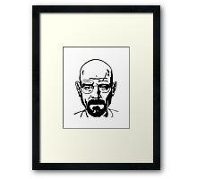 Bryan Cranston - Walter White - Breaking Bad Framed Print