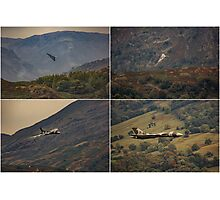 Vulcan Flypast at Ambleside Photographic Print