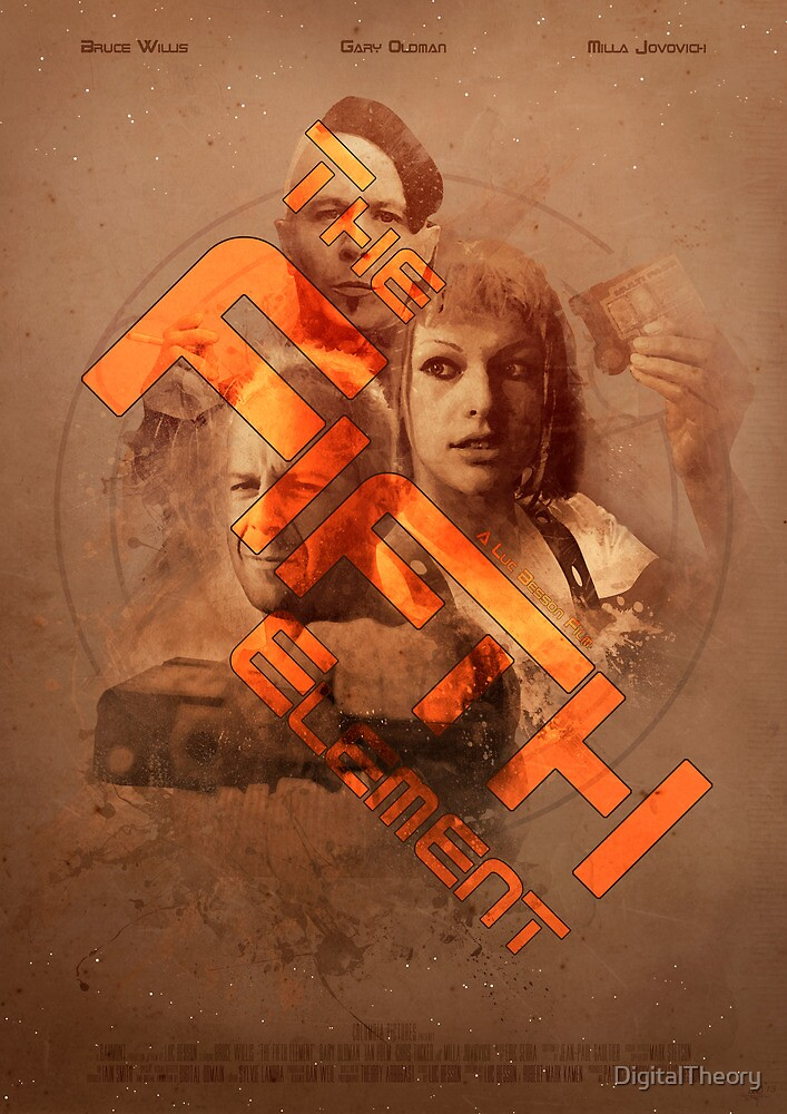 The Fifth Element No. 2 by DigitalTheory