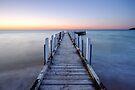 Patient Tide - Safety Beach, Victoria, Australia. by Sean Farrow