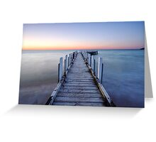Patient Tide - Safety Beach, Victoria, Australia. Greeting Card