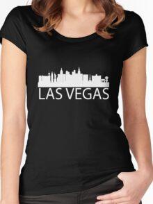 Las Vegas Skyline Women's Fitted Scoop T-Shirt