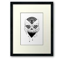 ENIGMATIC SKULL Framed Print