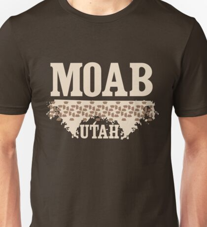 Moab Utah Mountain Biking Unisex T-Shirt