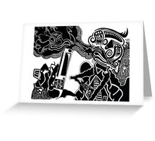 HEADSHOT! Greeting Card