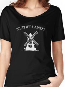 Netherlands Windmills Women's Relaxed Fit T-Shirt