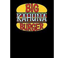 Big Kahuna Burger Tee Photographic Print