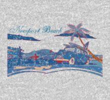 Newport Beach Scene T-Shirt