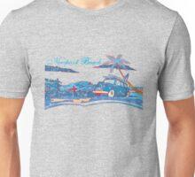 Newport Beach Scene Unisex T-Shirt
