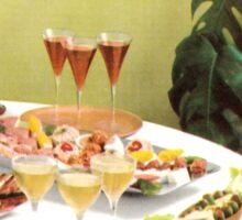 Swanky Cocktail Hour Sticker
