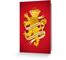 A Lannister Always... Greeting Card
