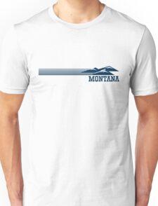 Retro Montana Skyline Unisex T-Shirt