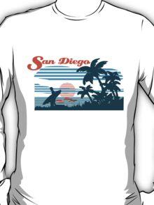 San Diego Surf Scene T-Shirt
