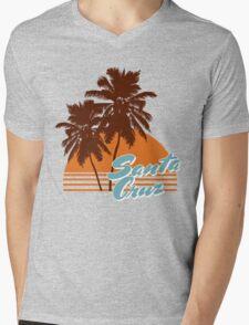 Santa Cruz California Mens V-Neck T-Shirt