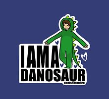 I AM A DANOSAUR Womens Fitted T-Shirt