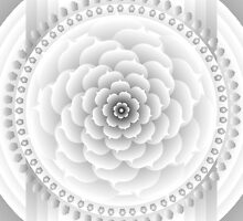 White Light Mandala by Sarah Niebank