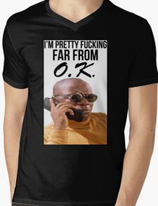 Far From O.K. Mens V-Neck T-Shirt