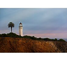 Point Vicente Lighthouse Photographic Print