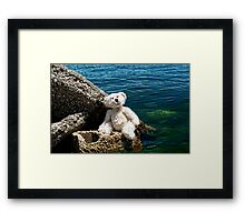 The Philosopher - Teddy Bear Art By William Patrick And Sharon Cummings Framed Print